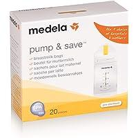 Bolsa para Coleta de Leite Materno Pump & Save com 20 Unidades, Medela, Incolor, 150 ml