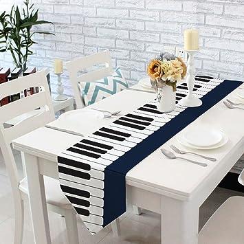 Yazi Klavier Tastatur Muster Tischläufer für Hochzeit Bankett ...