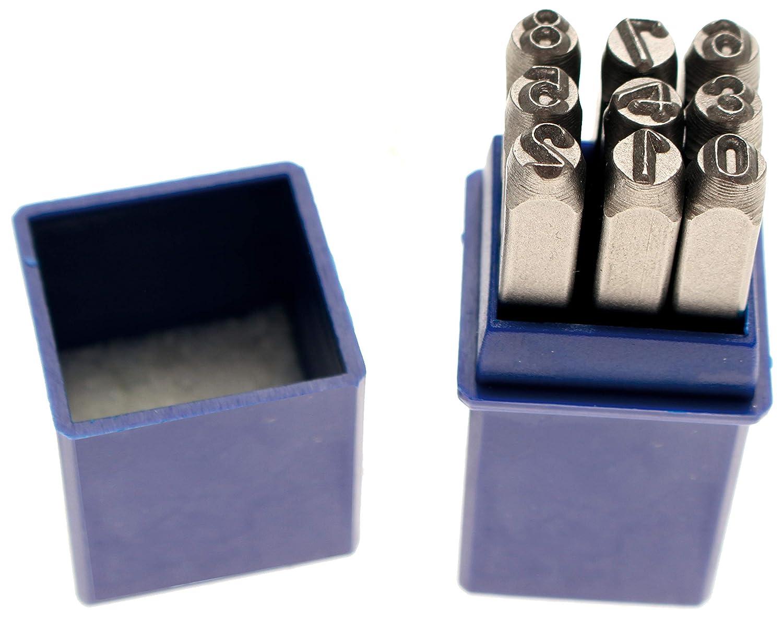 BGS 3043 Schlagzahlen und Schlagbuchstaben Satz  Grösse  4mm