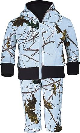 f5871afbd TrailCrest Infant - Toddler Camo Two Piece Cotton Jacket & Pants Set, 3-6