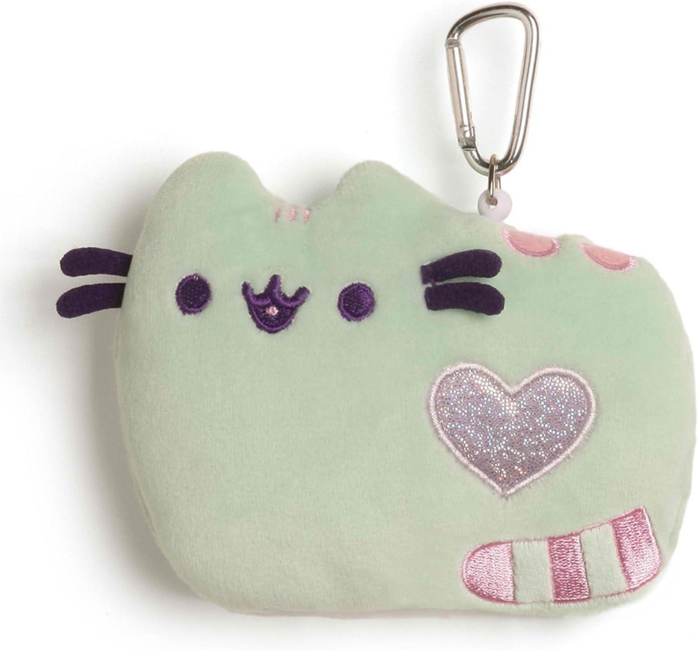Gund Pusheen The Cat Pastel Id Case Pink