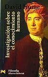 Investigación sobre el conocimiento humano (El Libro De Bolsillo - Filosofía, Band 4423)