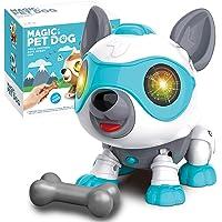 aovowog Speelgoed Robot Hond voor 3 Jaar Oude Jongens Meisjes,Slimme Interactieve Puppy Elektronische Huisdier Hond met…