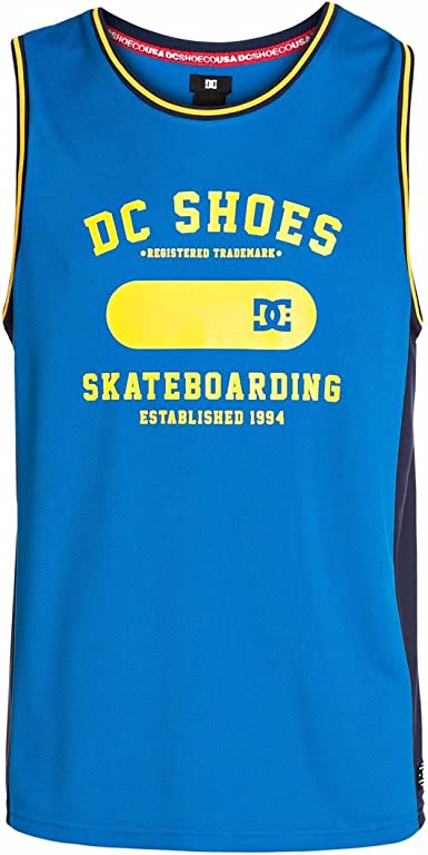 DC Shoes Letter Word Camiseta Tirantes para Hombre
