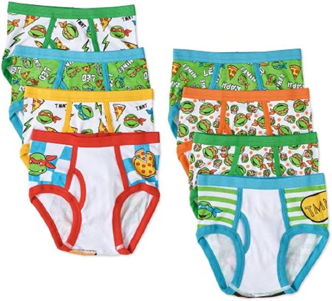 Teenage Mutant Ninja Turtles 3 Boys/' Briefs-Size 8-Free Shipping-New In Package