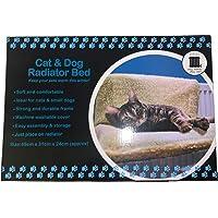 DIVCHI Cat Dog Puppy Pet Radiator Bed Warm Fleece Beds Basket Cradle Hammock Animal