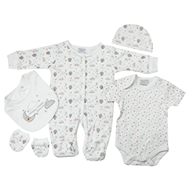 92e526eebf11 Presents Gifts for Newborn Baby Boys Girls Toddler Unisex Cute Clothing  Sets 3-6 Months Outfits Bundles Pack White Twinkle Twinkle Star Theme First  ...