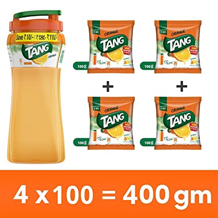 wholesale dealer 3b77c 99d44 Tang Orange Instant Drink Mix, 400 gm Sipper