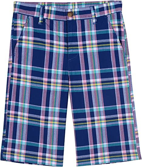 Nautica Toddler Boys Printed Flat Front Short