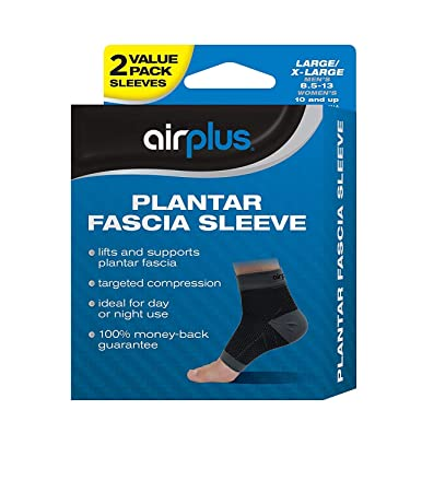 8298e177a4 Image Unavailable. Image not available for. Color: Airplus Plantar Fascia  Sleeve ...