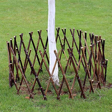 WXQ Valla de jardín de bambú, Marco de Escalada para Plantas, para decoración al Aire Libre, 2 Colores, 4 tamaños, bambú, B, 60X180CM: Amazon.es: Hogar