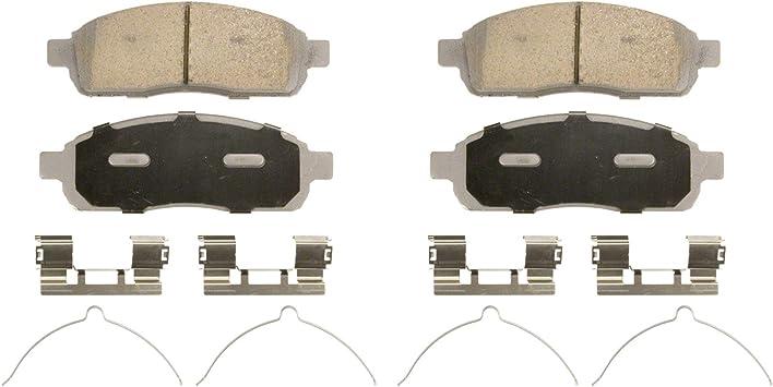 Disc Brake Pad Set ThermoQuiet Disc Brake Pad Front Wagner QC1083