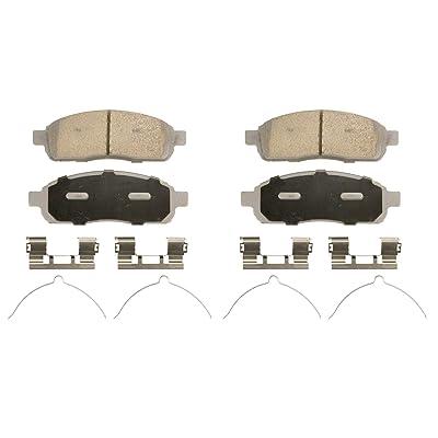 Wagner ThermoQuiet QC1083 Ceramic Disc Pad Set