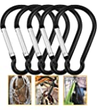 Camping Keychain Carabiner Backpack Traveling Clip Hook Hiking Clips D-ring