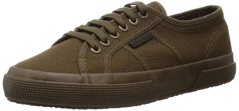 Superga 2750 Cotu Classic Sneakers Low-Top Unisex Damen Herren Grün (Military Green)