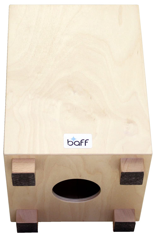 baff Musikm/öbel 219 Kindertrommelhocker//cajon mit Sitzh/öhe 30 cm natur beige