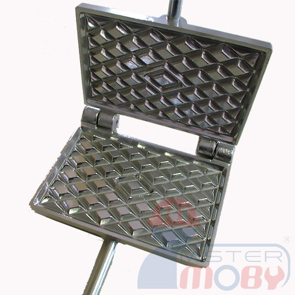Mistermoby Traditional Italian Cookies Maker Machine Pizzelle Waffle Wafer Krumkake Model 2