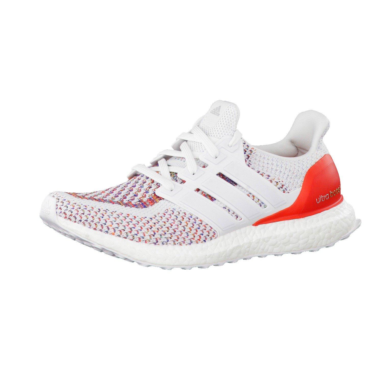 Adidas Ultraboost M, Zapatillas de Running para Hombre 50 2/3 EU|Blanco (Ftwbla / Ftwbla / Rojo)