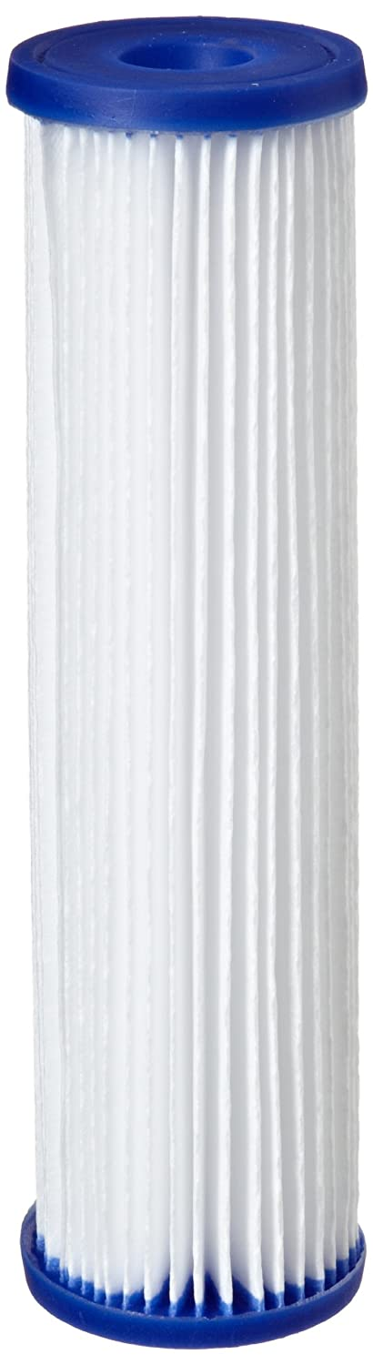 Pentek R50 Pleated Polyester Filter Cartridge 9 3 4 x 2 5 8 50 Microns