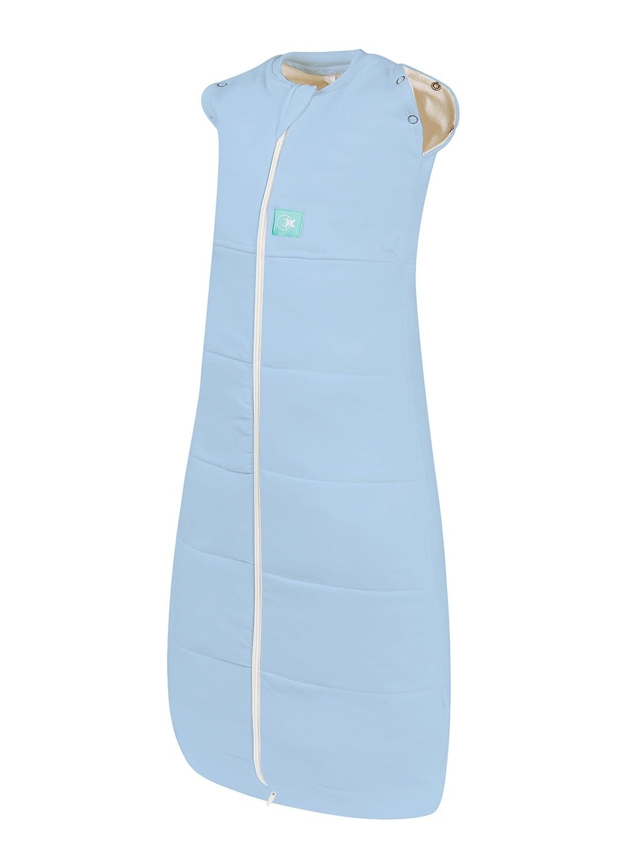 Ergococoon Hybrid Swaddle Schlafsack für 3–12 Monate 2,5 Tog (blau)