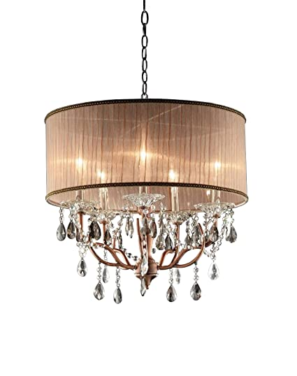 Ok 5126h 25 inch rosie crystal ceiling lamp close to ceiling light ok 5126h 25 inch rosie crystal ceiling lamp aloadofball Gallery