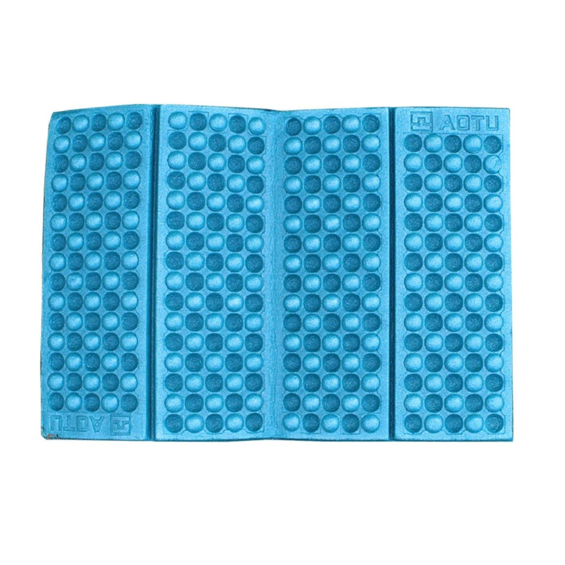 Fantasyworld Outdoor Portable Foldable EVA Foam Mat Waterproof Moisture-Proof Cushion Seat Pad for Hiking Camping Travel Honeycomb Mat