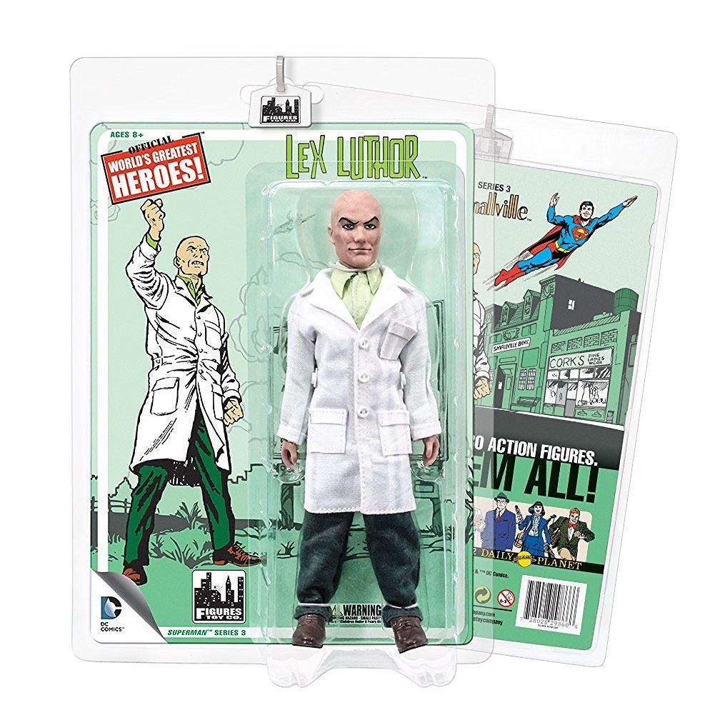 Action Figuren – DC RETRO SUPERMAN Serie 3 LEX LUTHOR 20,3 cm dcsm0302
