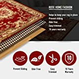 Rose Home Fashion RHF Non-Slip Area Rug Pad Round