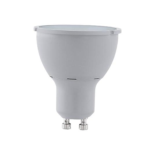 EGLO LM GU10 - Bombilla LED (plástico, 5 W), color blanco