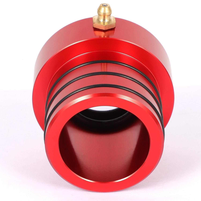 2pcs Red Front Axle Tube Seal Kit for Jeep JK TJ XJ ZJ MJ Dana
