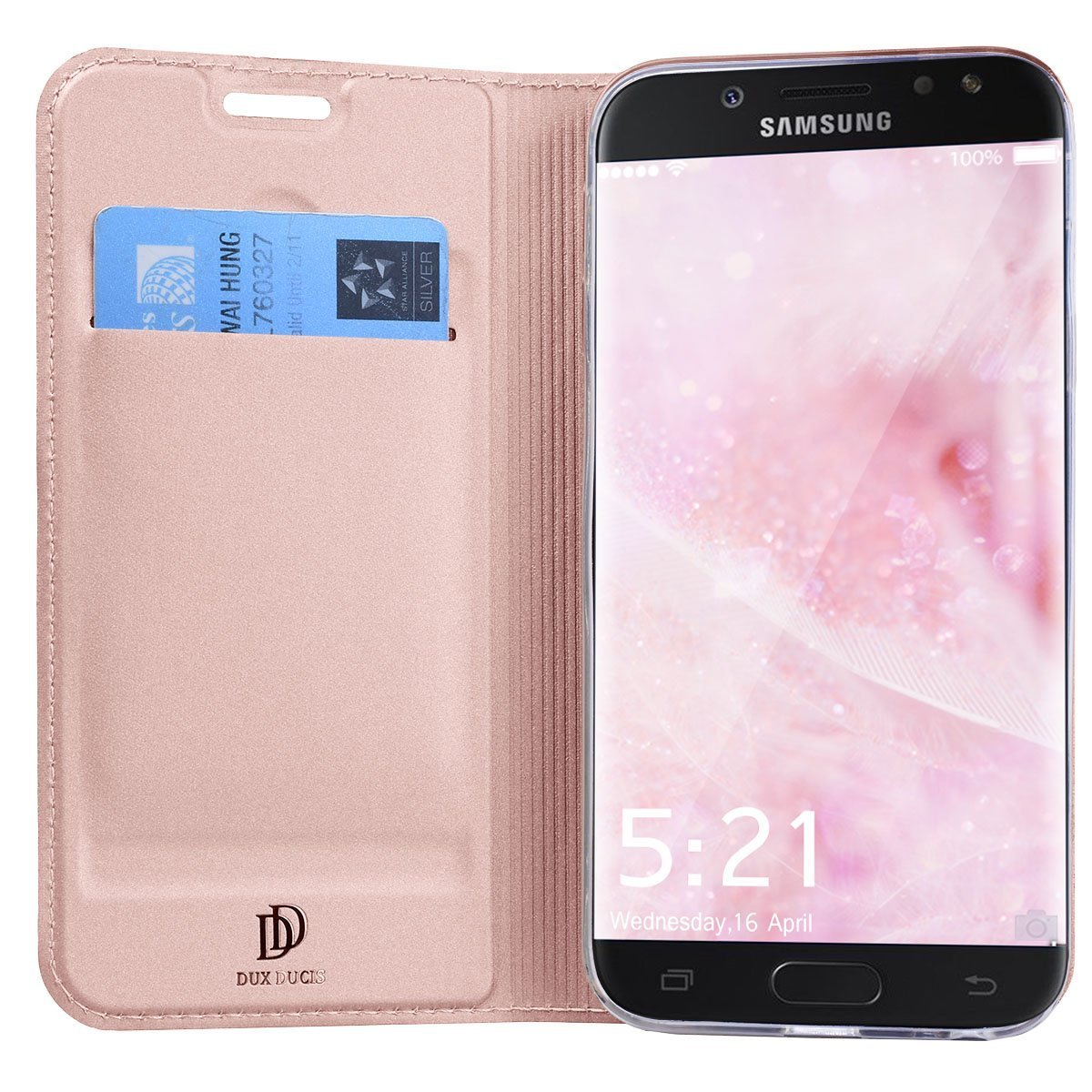 Cover Galaxy J5 2017 Samsung J7 2017 Custodia Pelle Premium PU Bookstyle Wallet Cassa in pelle Protettiva Flip Cover per Galaxy J3 2017