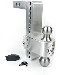 """1-7//8/"""" Stainless Steel Hitch Ball 1/"""" Shank x 2/"""" Length Hitch Ball 2,000 lbs"""