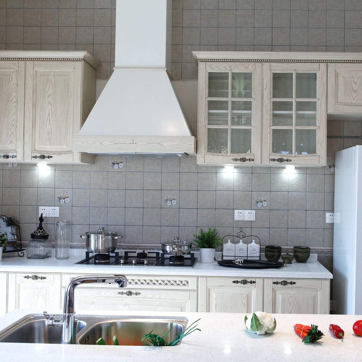 6000K Blanc 40W de Remplacement Incandescent Paquet de 2 Lampe Pour Hotte Aspirante DORESshop E14 T25 LED 4W Ampoule de hotte Ampoule /à Filament Edison