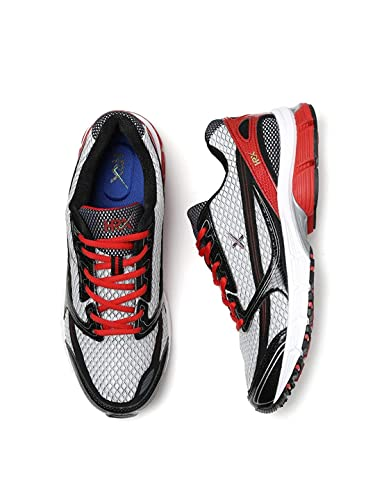 check out 4014f 5967d HRX by Hrithik Roshan Men Grey & Black Running Shoes (7UK ...