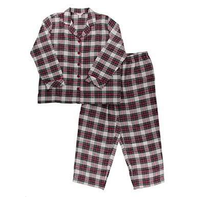 5b3e913e90ab Charter Club Women s Plus Size Printed Flannel Pajama Set
