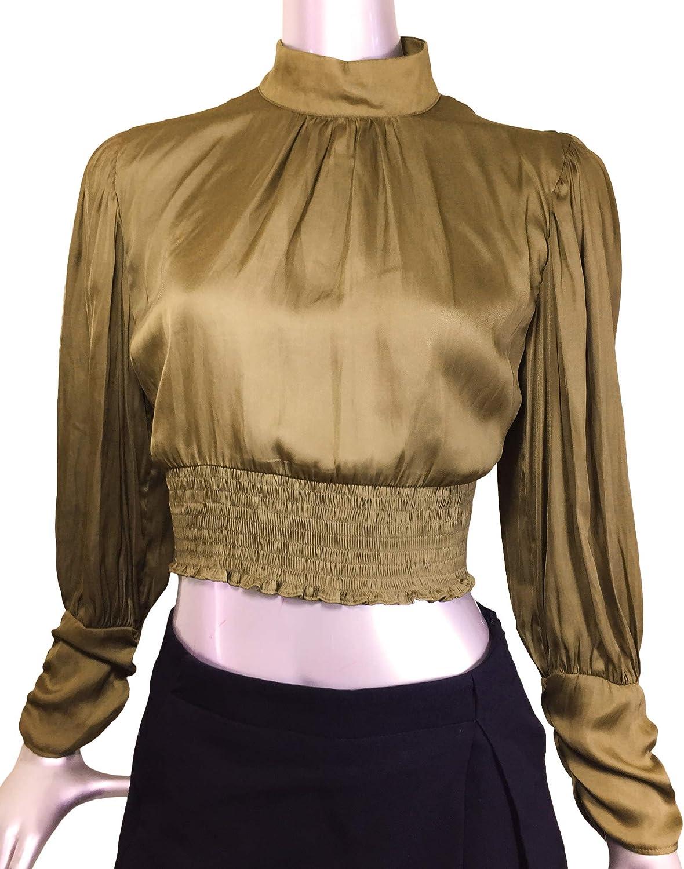 Zara 7484/164/505 Blusa para Mujer con Detalle de Escote ...