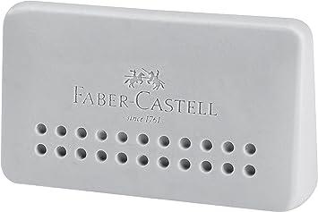 FABER-CASTELL Kunststoff Radierer GRIP 2001 grau