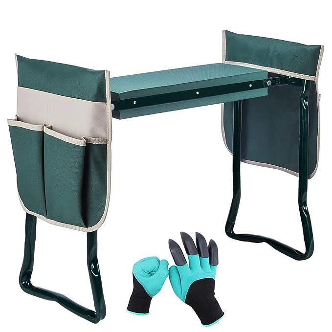 Prime Amazon Com Garden Kneeler Seat Folding Garden Bench With Pdpeps Interior Chair Design Pdpepsorg