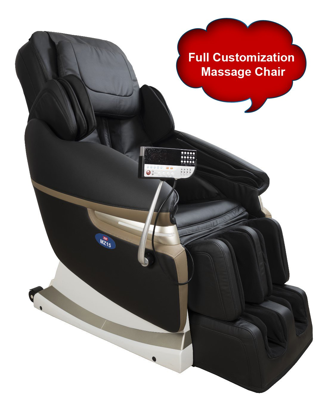 massage chair for sale near me. jsb mz15 full body massage chair with powerful 3d back and leg (black): amazon.in: health \u0026 personal care for sale near me