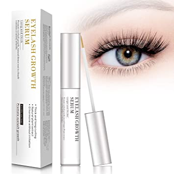 87a8194667a Amazon.com: MayBeau Eyelash Growth Serum,Natural Brow Lash Enhancer,Nourish  Damaged Lashes and Boost Rapid Growth: Beauty
