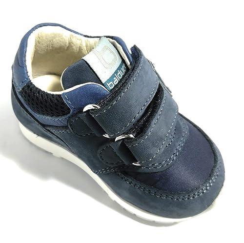BALDUCCI CSPORT1501 Bleu Scarpe Bambino Sneakers Junior Chiusura a Strappo  Baby (18 EU) 6022af63a73