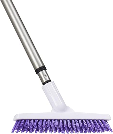 fuller brush tile grout ez scrubber complete lightweight multipurpose power surface scrubber cleaner brush perfect for cleaning hard to reach