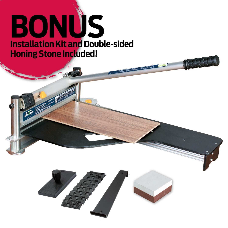 EAB Tool 2100010 EAB Tool Professional Floor Cutter, 13'', Black by EAB Tool