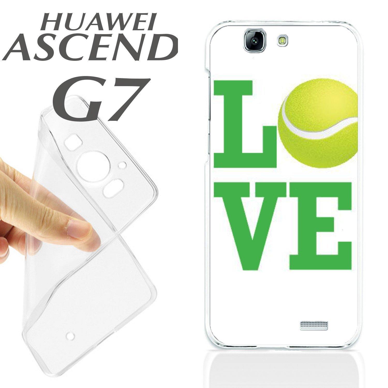 carcasaschulas J348 Huawei Ascend G7 Gel Carcasa Funda TPU Pelota ...
