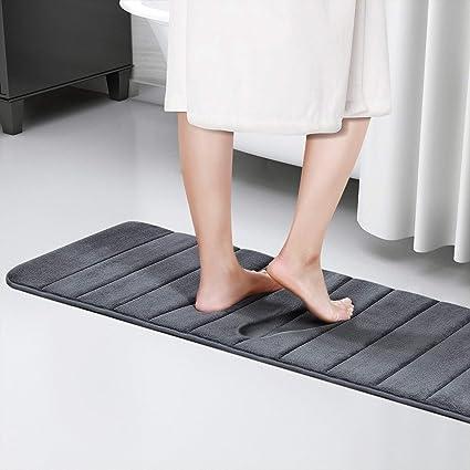 Amazoncom Lifewit 472 X 165 Bathroom Bath Runner Rug Long Soft