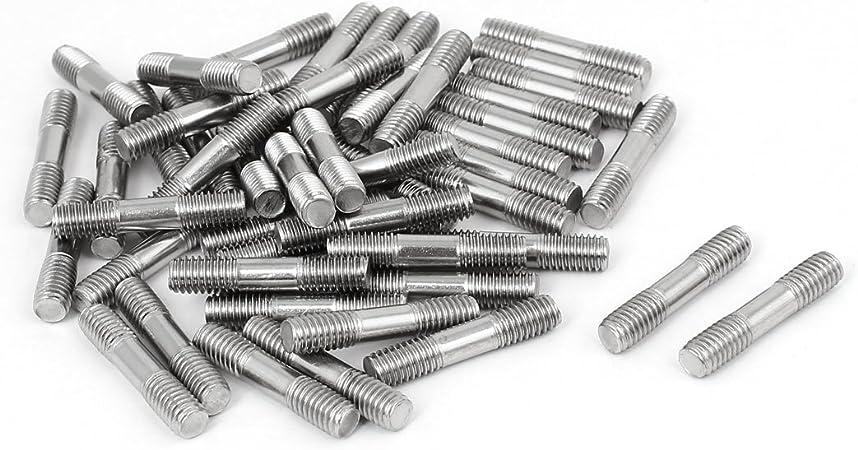 New Pack of 100 Pcs #2 x 3//8 inch Phillips-Drive Flat Head Sheet Metal Hardware Stainless Steel Metal Machine Screws Kit Set Warranity by Pr-Merchant