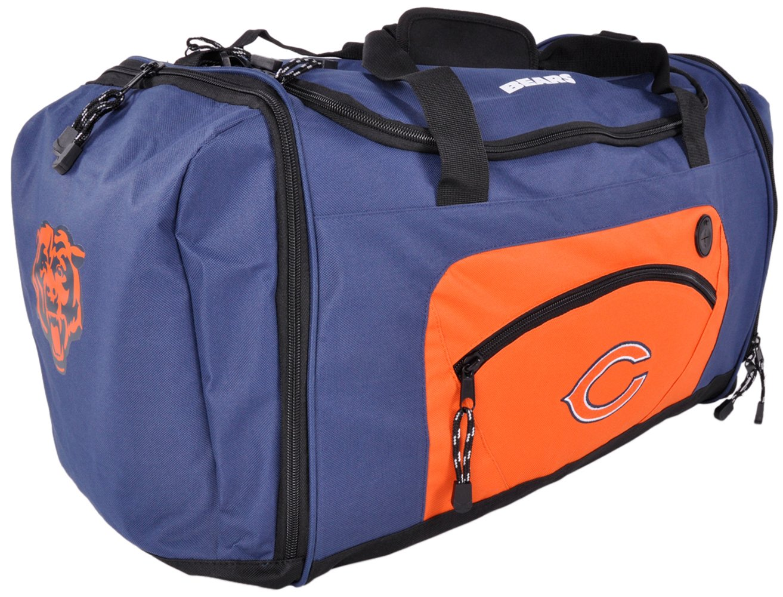 Chicago Bears Duffle Bag 20'' Luggage Navy OS