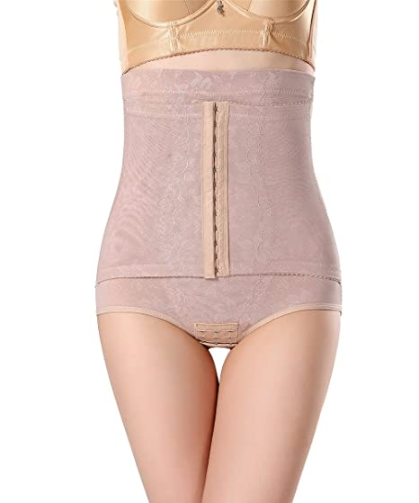f9b5820ed Image Unavailable. Image not available for. Color  FOCUSSEXY Women Best  Waist Cincher Girdle Belly Trainer Corset Body Shapewear