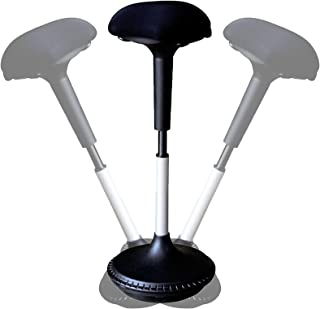 Active Sitting Chair / Ergonomic Standing Desk Swivel Stool with Adjustable Height Black | Stand  sc 1 st  Amazon.com & Amazon.com : Uncaged Ergonomics Wobble Stool Adjustable Chair ... islam-shia.org