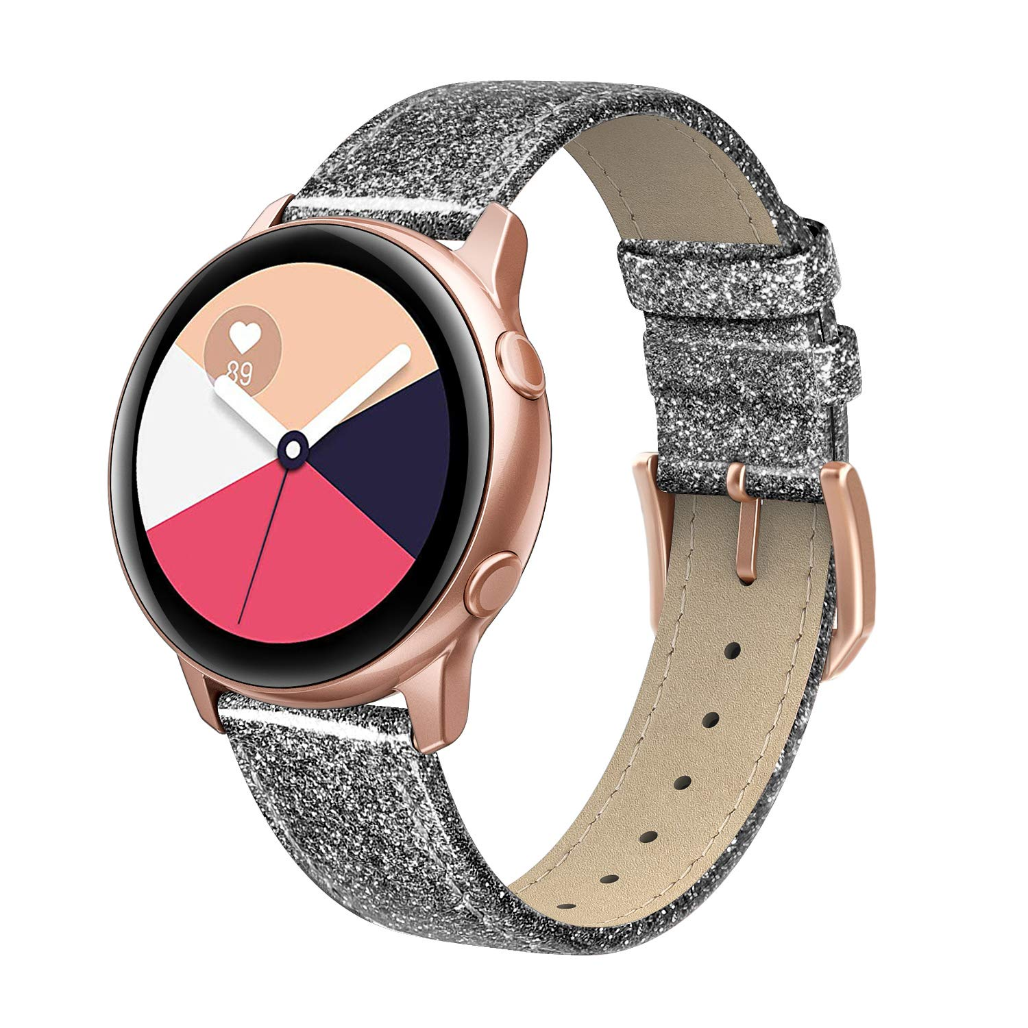 Malla para reloj Samsung Galaxy Watch Active 40mm glitter